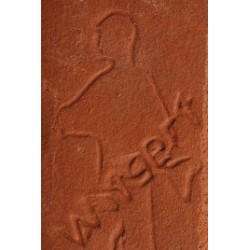 Glina rdeča šolska Witgert 322 10 kg