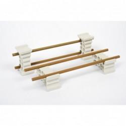 Šamotna palica za prihranek prostora 410/8 mm
