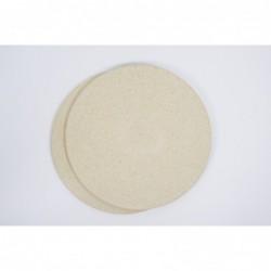 Šamotna plošča okrogla 38 x 1,0 cm 2966