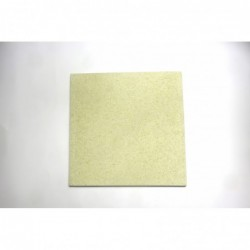 Šamotna plošča kvadratna 25 x 25 x 1,5 cm 2945A