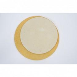 Šamotna plošča okrogla 55 x 1,8 cm 2957